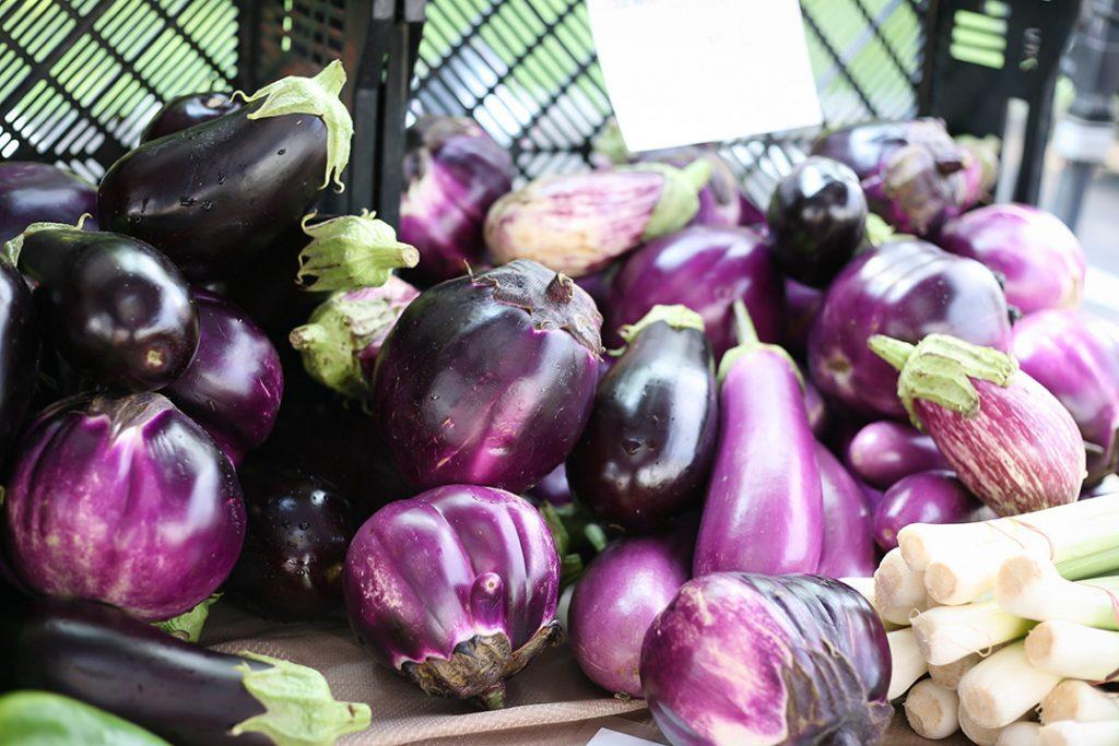 Farmers Market eggplant
