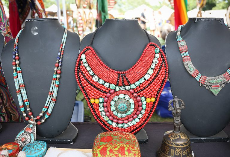Tibetan Jewelry at Olney Farmers Market