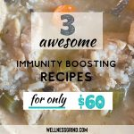 Three immunity building recipes for under $60