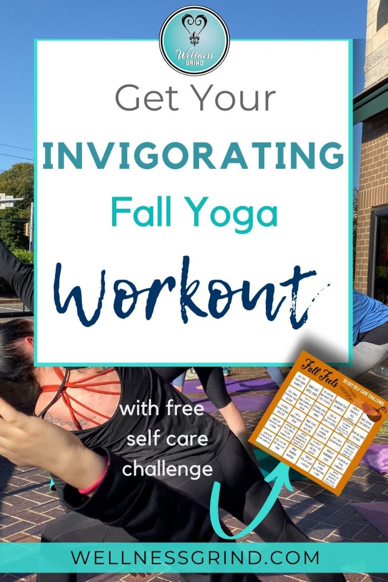 Get Your Freebie Self-Care Challenge with an invigorating Fall Yoga Workout!