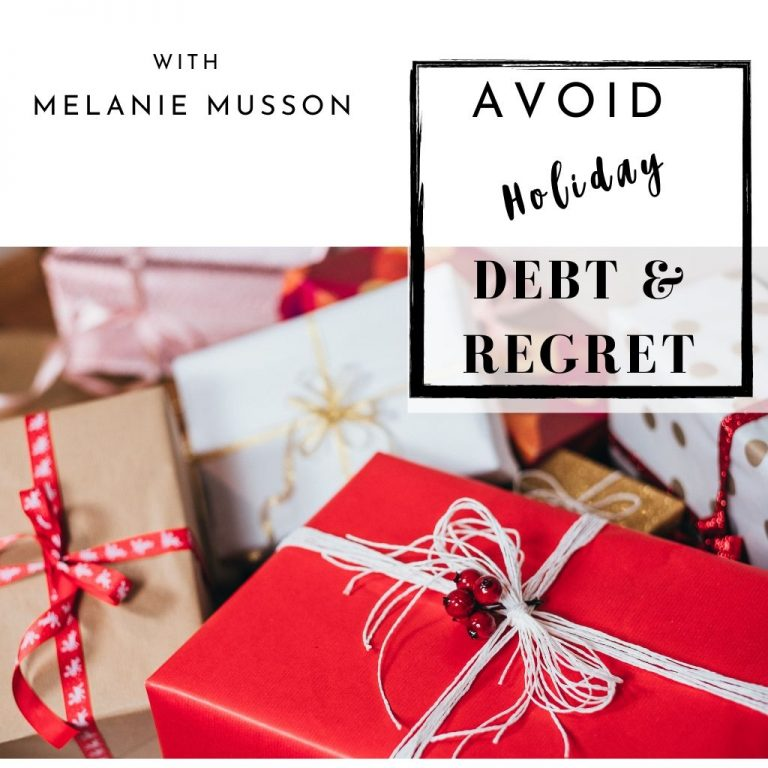 Holiday Debt and Regret with presents