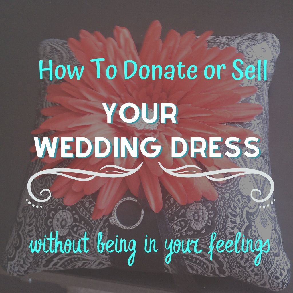 how to donate your wedding dress