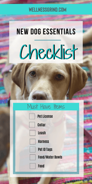 This new dog essentials checklist can help you with your brand new pet! See the rest of the top 25 list of new puppy or dog supplies.   #pets #dog #rescue #rescuedog #adopt