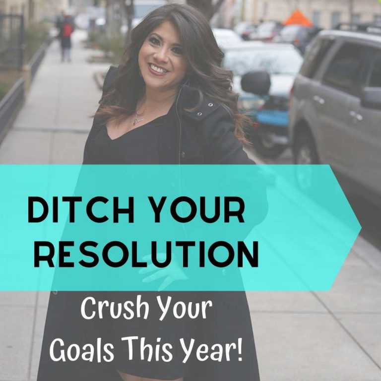 Lead image Ditch Your Resolutions
