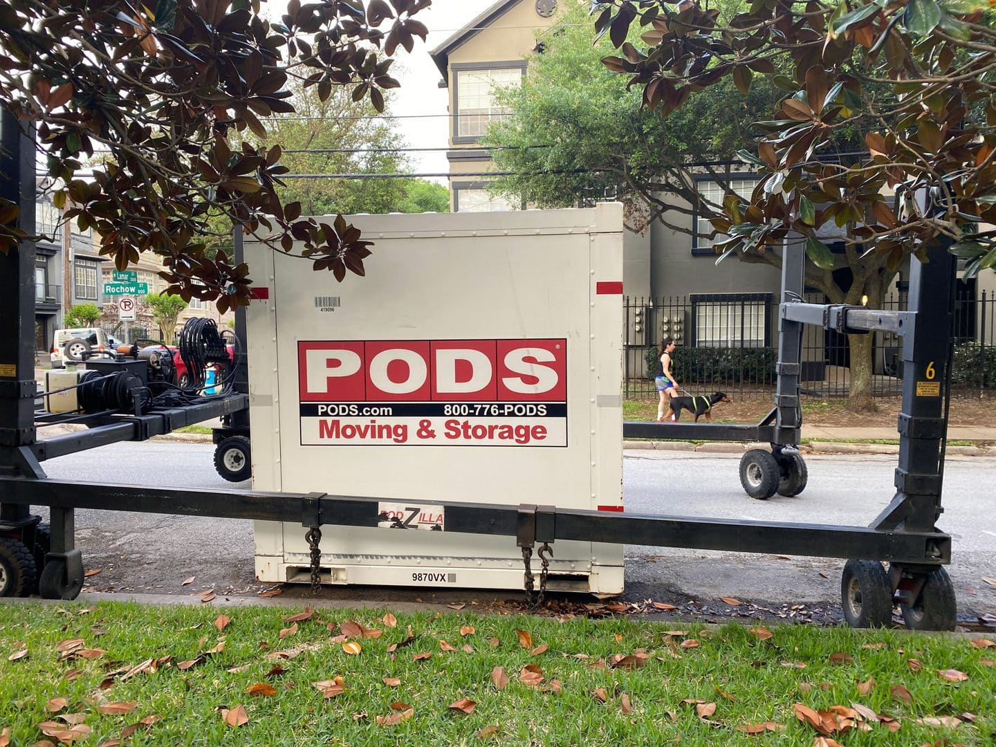 PODS container delivery system