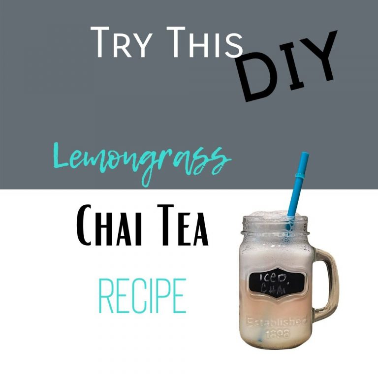 Try this DIY lemongrass chai tea recipe